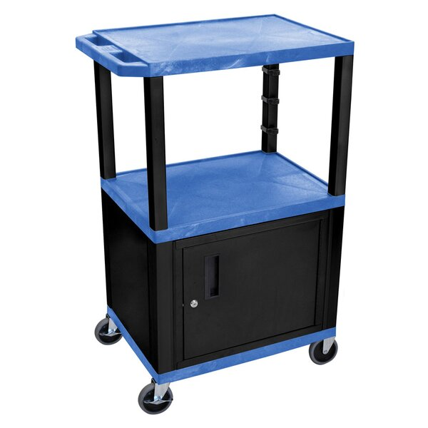 Tuffy 3 Shelf AV Cart by Offex