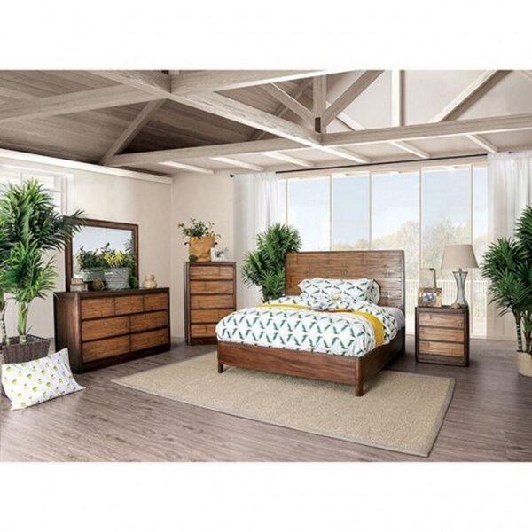Lyerly 4 Piece Bedroom Set (Set of 4) by Bay Isle Home