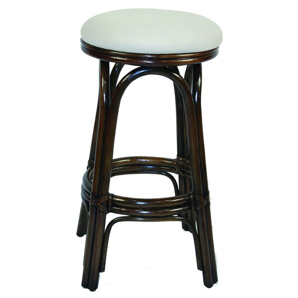 Brees 30 Swivel Bar Stool by Beachcrest Home