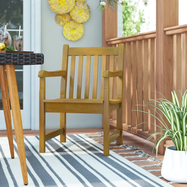Harpersfield Dining Arm Chair By Beachcrest Home by Beachcrest Home Find