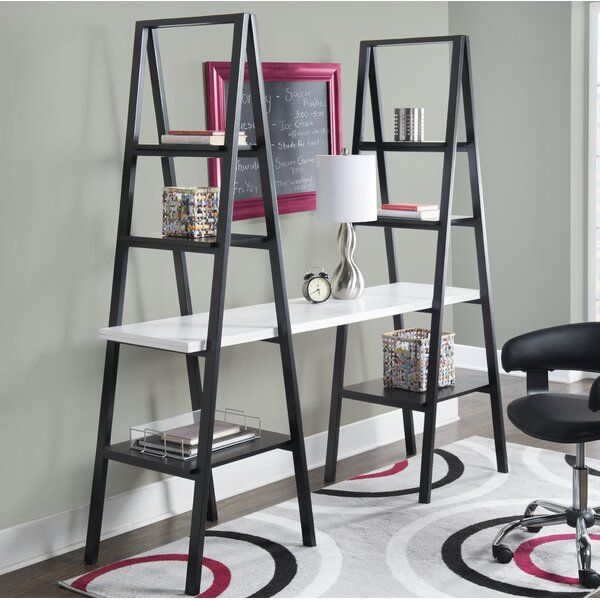 Buenrostro Triangle Standard Bookcase by Mercury Row