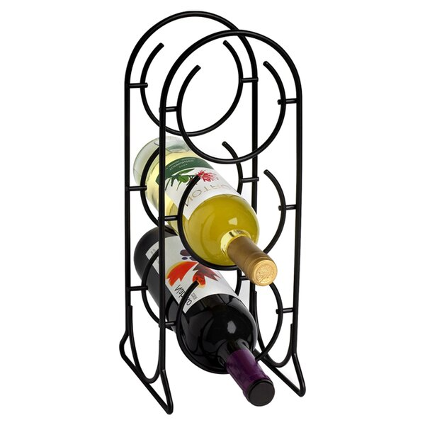 Horseshoe 3 Bottle Tabletop Wine Rack by Spectrum Diversified