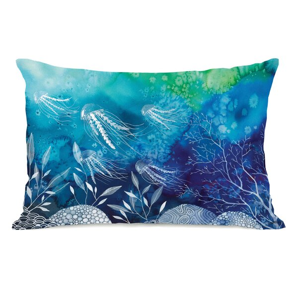 Sea Life Lumbar Pillow by One Bella Casa