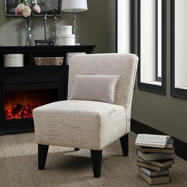 Langford Slipper Chair by Fox Hill Trading