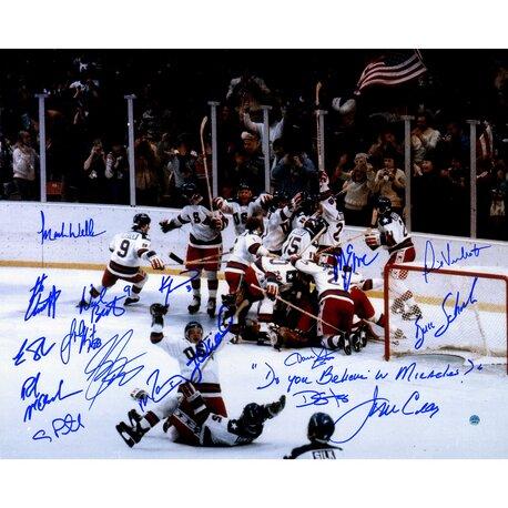 1980 USA Hockey Team Photographic Print by Steiner Sports