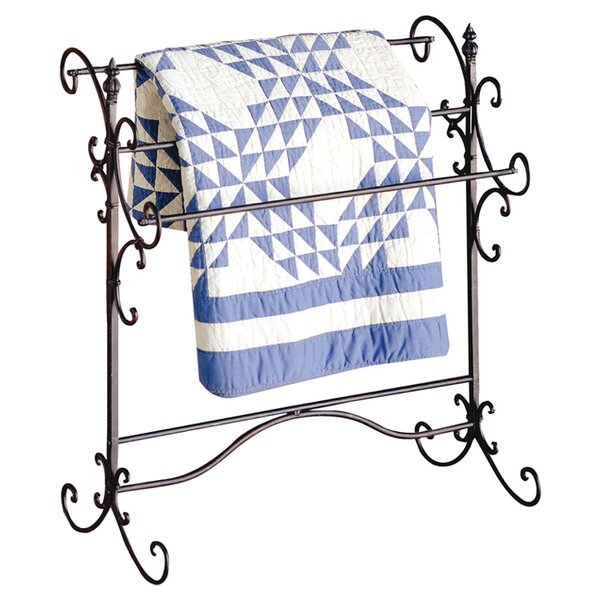 Metal Blanket Racks You'll Love | Wayfair : portable quilt hangers - Adamdwight.com
