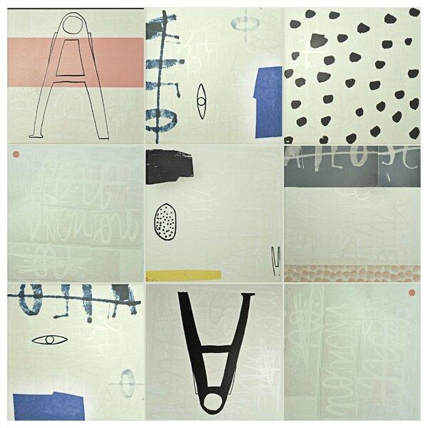 Detendre 7.88 x 7.88 Ceramic Field Tile in Gray by EliteTile