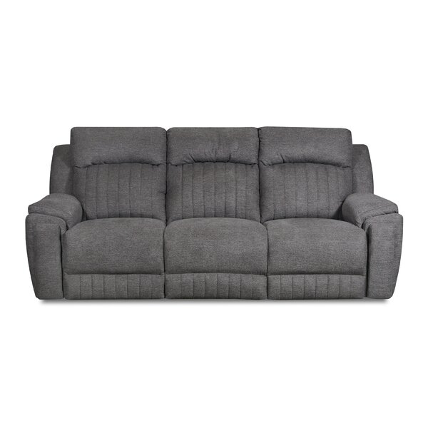 Holiday Buy Silver Screen Reclining Sofa by Southern Motion by Southern Motion