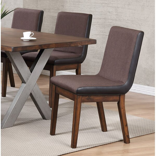 Natick Upholstered Dining Chair (Set of 2) by Union Rustic