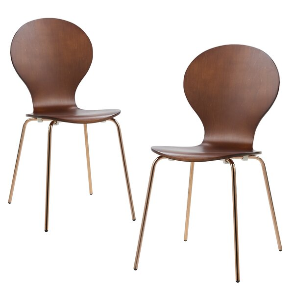 2 Piece Contorno Bentwood Side Chair (Set of 2) by VERSANORA