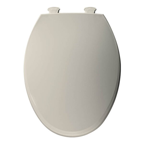 Lift-Off Plastic Elongated Toilet Seat by Bemis