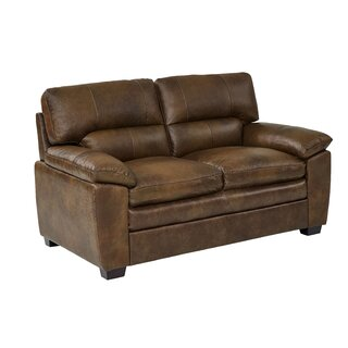 Albritton Leather Loveseat by Red Barrel Studio SKU:AB264553 Buy