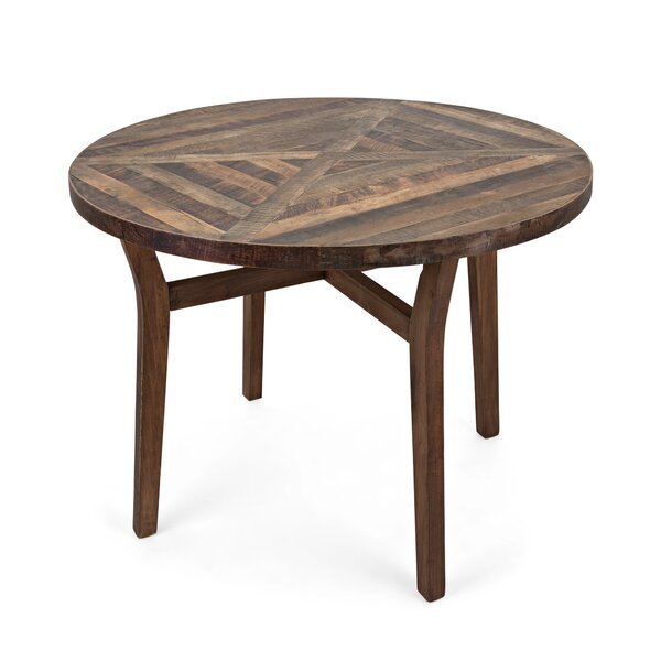 Chew Delphia Reclaimed Wood Dining Table by Union Rustic