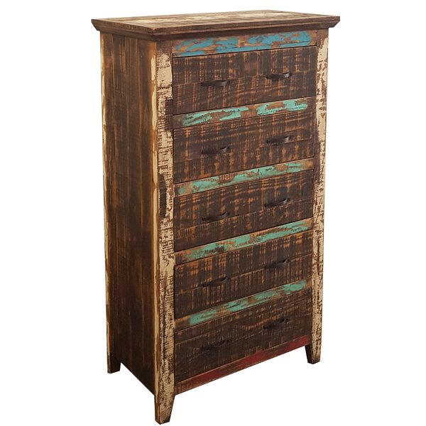 Freelon 5 Drawer Chest by Millwood Pines