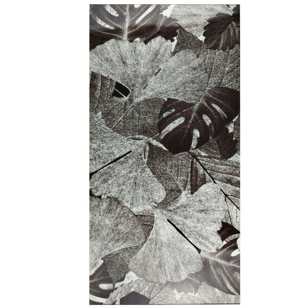 Archaea 11.75 x 23.75 Glass Field Tile in Gingko Silver/Gray by EliteTile