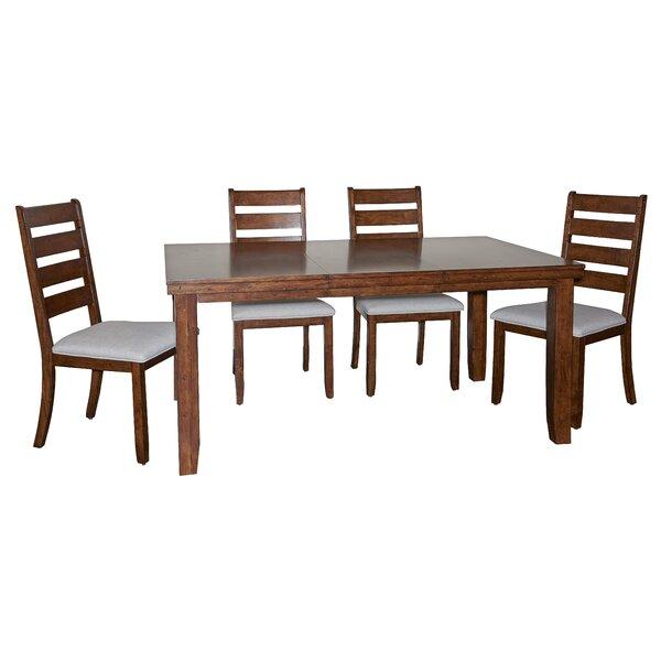 Geduhn 5 Piece Dining Set by Loon Peak