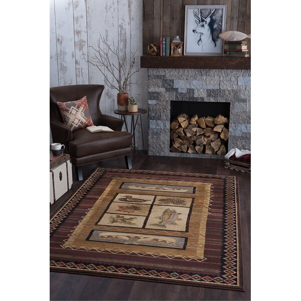 Stanley Brown Area Rug by Threadbind