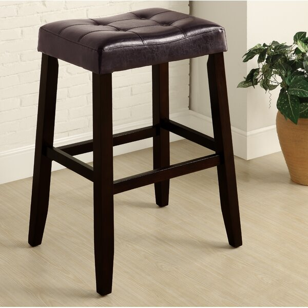 Lyndale Saddle 29 Bar Stool (Set of 2) by Alcott Hill