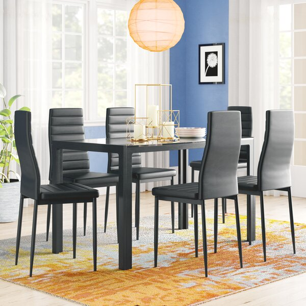 Looking for Rosenzweig 7 Piece Dining Set By Latitude Run Great Reviews