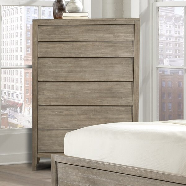 Trawalla 6 Drawer Chest by Union Rustic
