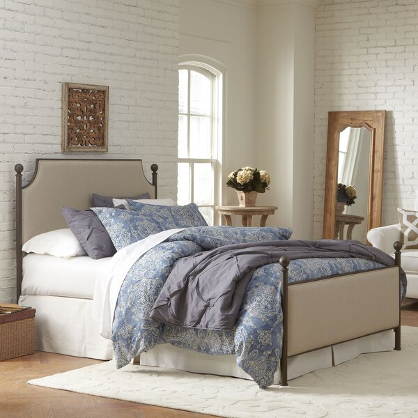 Willison Bedroom Collection Upholstered Standard Bed by Birch Lane™ Heritage