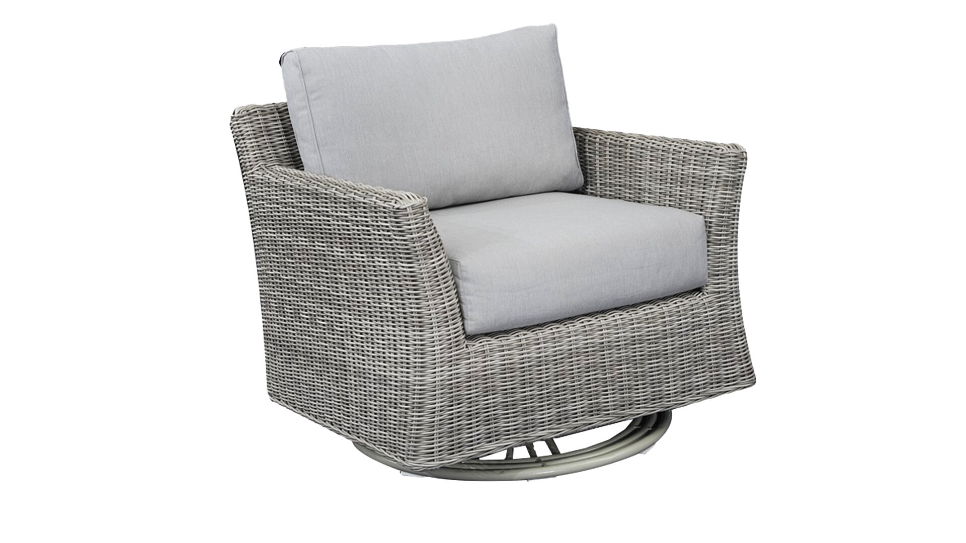 Terrific Soto Club Rocker Swivel Patio Chair With Cushions Gmtry Best Dining Table And Chair Ideas Images Gmtryco