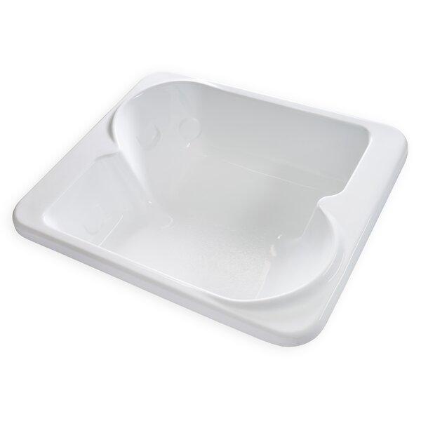 Hygienic 72 x 60 Soaking Bathtub by Carver Tubs