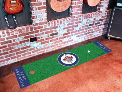 NHL - Winnipeg Jets Putting Green Mat by FANMATS