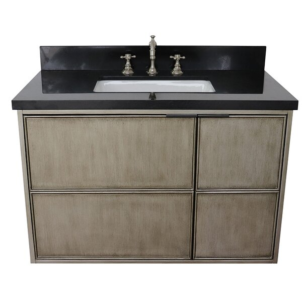 Wilkin 37 Wall Mounted Single Bathroom Vanity Set by Bloomsbury Market