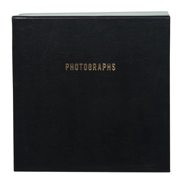 Premium Leather Photo Scrapbook (Set of 3) by Brayden Studio