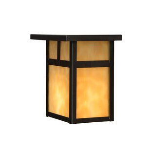 Bargain Hyde Park T Mission 1-Light Outdoor Flush Mount By Meyda Tiffany