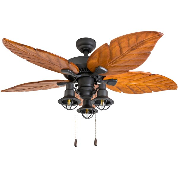 52 Manderly 5 Blade LED Ceiling Fan by Bay Isle Home