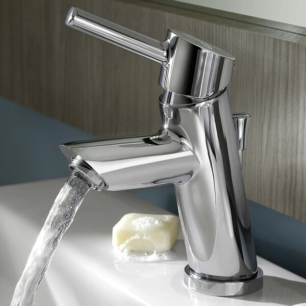 Serin Petite Single Hole Bathroom Faucet with Drain Assembly