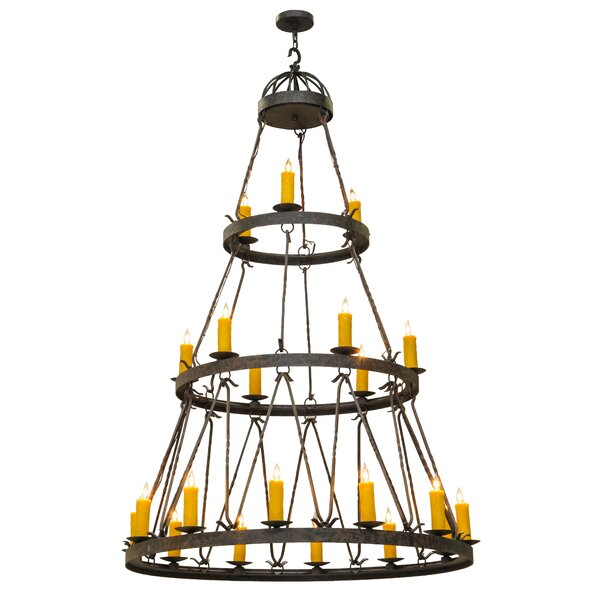 Blasa 21 - Light Candle Style Tiered Chandelier by 17 Stories 17 Stories