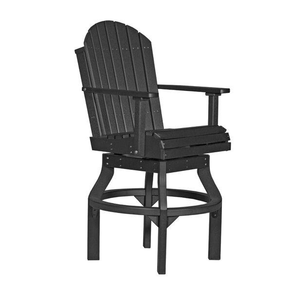 Kalki Adirondack Bar Height Swivel Patio Dining Chair by Ebern Designs