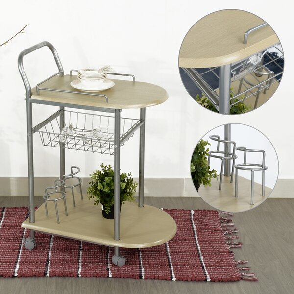 Breeding Bar Cart by Ebern Designs