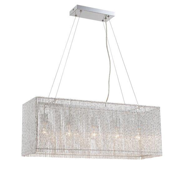 Dean 5-Light Kitchen Island Crystal Pendant by House of Hampton