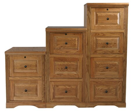 Glastonbury 3-Drawer Vertical Filing Cabinet
