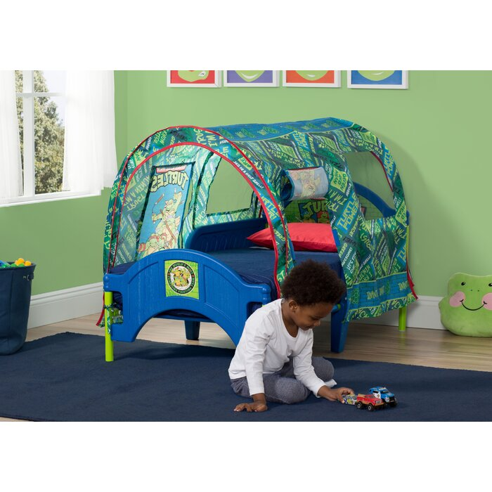 Nickelodeon Teenage Mutant Ninja Turtles Toddler Tent Bed  sc 1 st  Wayfair.ca : ninja turtle tent - memphite.com