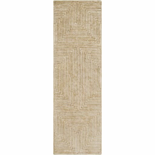 Zosia Hand-Tufted Tan/Beige Area Rug by Langley Street