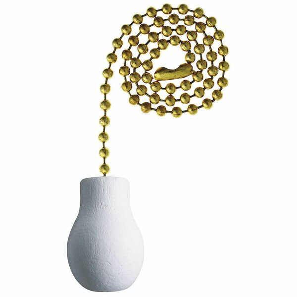 Decorative Brass Pull Chain by Westinghouse Lighting