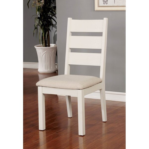 Rozlynn Upholstered Dining Chair (Set of 2) by Highland Dunes