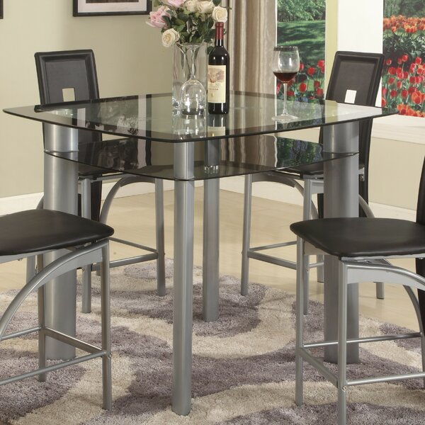 Metro Counter Height Dining Table by Global Trading Unlimited