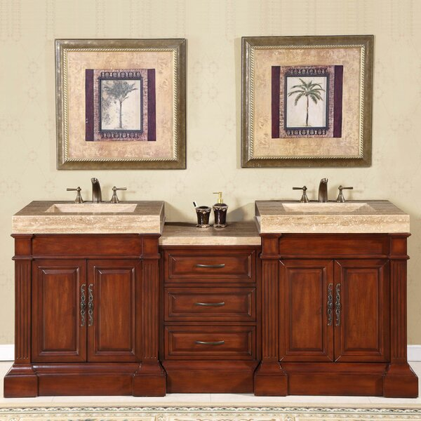 Toucha 83 Double Bathroom Vanity Set