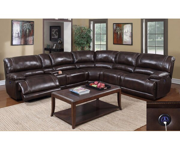 Zane Reclining Sectional by E-Motion Furniture