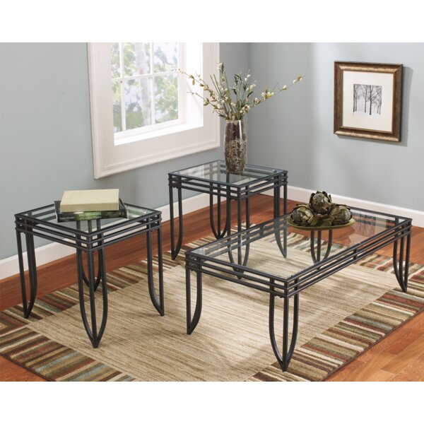 Villarreal 3 Piece Coffee Table Set