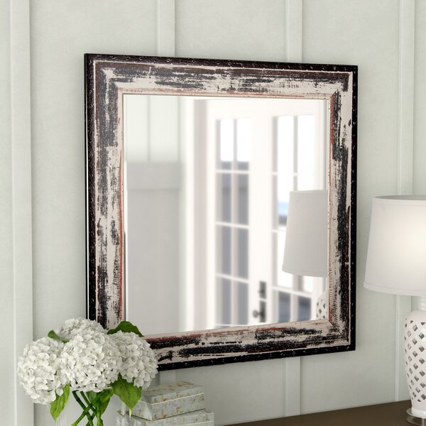 Terwood Rustic Seaside Wall Mirror by Rosecliff Heights