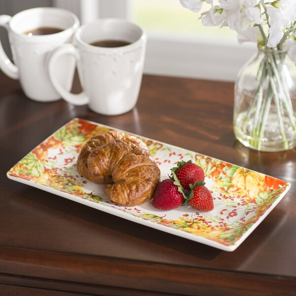 Ashleaf Platter by Darby Home Co