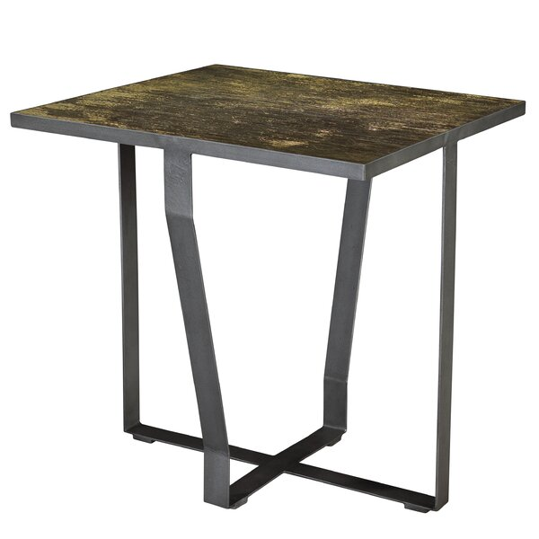 Coglin Swerve End Table by Brayden Studio