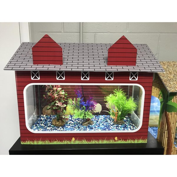 10 Gallon Barn Aquarium Tank Cover by RJ Enterprises